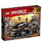 LEGO NINJAGO 70654 LE VEHICULE DE COMBAT DIESELNAUT