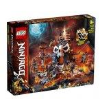 LEGO NINJAGO 71722 LE DONJON DU SORCIER AU CRANE