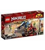 LEGO NINJAGO LEGACY 70667 LA MOTO DE KAI ET LE SCOOTER DES NEIGES DE ZANE