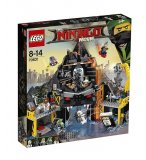 LEGO NINJAGO MOVIE 70631 LE REPAIRE VOLCANIQUE DE GARMADON