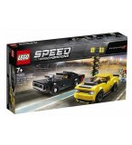 LEGO SPEED CHAMPIONS 75893 DODGE CHALLENGER SRT DEMON 2018 ET DODGE CHARGER R/T 1970