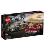 LEGO SPEED CHAMPIONS 76903 CHEVROLET CORVETTE C8.R RACE CAR ET 1968 CHEVROLET CORVETTE