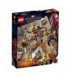 LEGO SPIDER-MAN 76128 SPIDER-MAN ET LA BATAILLE DE L'HOMME DE METAL