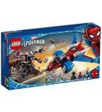 LEGO SPIDER-MAN 76150 LE SPIDER-JET CONTRE LE ROBOT DE VENOM