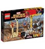 LEGO SUPER HEROES 76037 L'EQUIPE DE SUPER VILAINS DE RHINO ET DE L'HOMME SABLE
