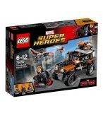 LEGO SUPER HEROES 76050 L'ATTAQUE TOXIQUE DES CROSSBONES