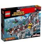 LEGO SUPER HEROES 76057 SPIDER-MAN : LE COMBAT SUPREME SUR LE PONT DES WEB WARRIORS