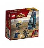 LEGO SUPER HEROES 76101 L'ATTAQUE DU VAISSEAU PAR LES OUTRIDERS