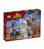 LEGO SUPER HEROES 76102 A LA RECHERCHE DU MARTEAU DE THOR