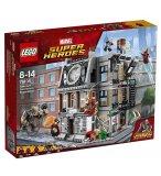 LEGO SUPER HEROES 76108 LA BATAILLE POUR LA PROTECTION DU SAINT DES SAINTS