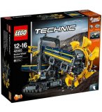 LEGO TECHNIC 42055 LA PELLETEUSE A GODETS