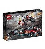 LEGO TECHNIC 42106 LE SPECTACLE DE CASCADES DU CAMION ET DE LA MOTO