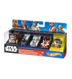 PACK DE 5 VEHICULES STAR WARS HOT WHEELS - MATTEL - DJP17