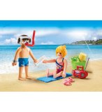 PLAYMOBIL CITY ACTION 9449 DUO PACK COUPLE DE VACANCIERS