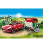 PLAYMOBIL COUNTRY 9376 PORSCHE MACAN GTS ROUGE