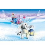 PLAYMOBIL MAGIC 9473 YETI AVEC TRAINEAU