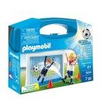 PLAYMOBIL SPORTS & ACTION 5654 VALISETTE FOOTBALLEUR