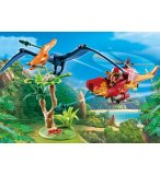 PLAYMOBIL THE EXPLORERS 9430 HELICOPTERE ET PTERANODON