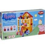 LA MAISON DE PEPPA PIG - 107 PIECES - PEPPA PIG - PLAYBIG BLOXX - 800057078