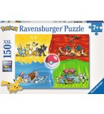 PUZZLE XXL DIFFERENTS TYPES DE POKEMON - 150 PIECES - RAVENSBURGER - 10035